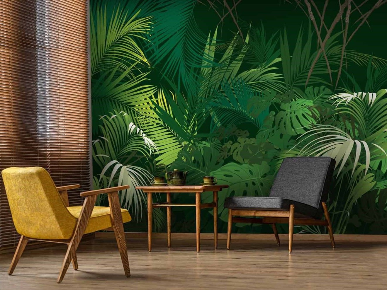 植物叢林壁紙