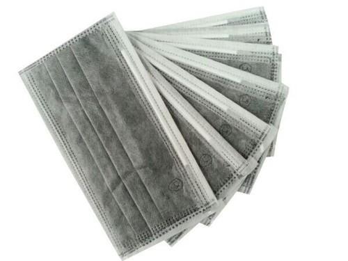 活性碳口罩多個扇型排列