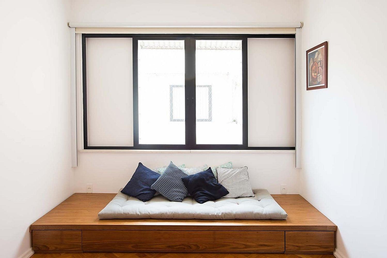 小型和室架高地板可充當臥室或客廳
