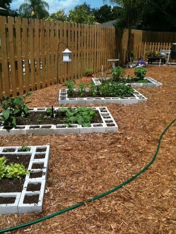 空心磚花圃花園