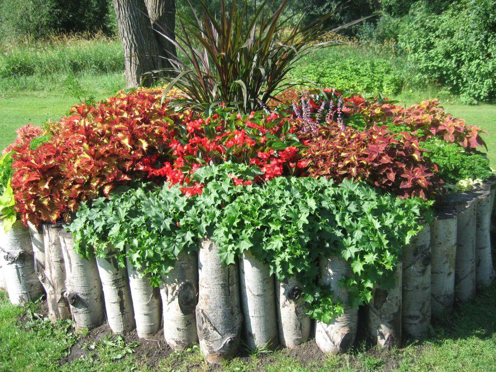 木頭園成圍籬花園