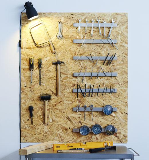 DIY IKEA 磁鐵工具架