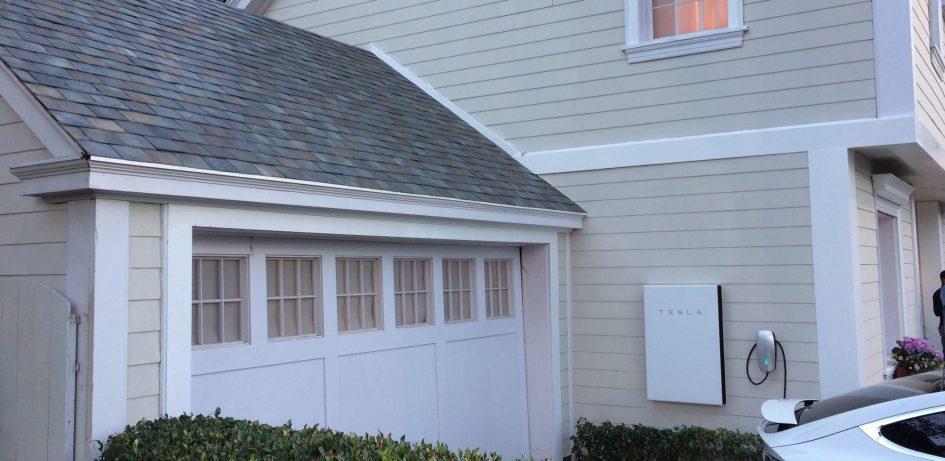 Tesla 太陽能 家用電 儲存