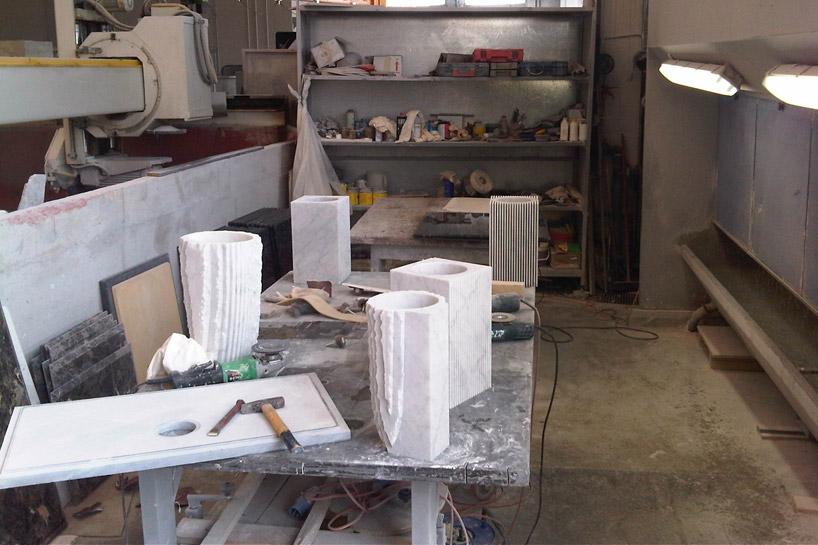 花瓶製作過程