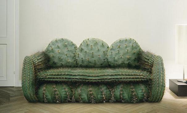 仙人掌沙發
