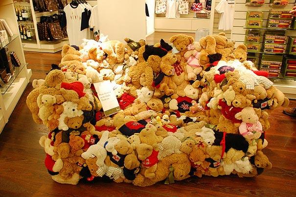 泰迪熊沙發
