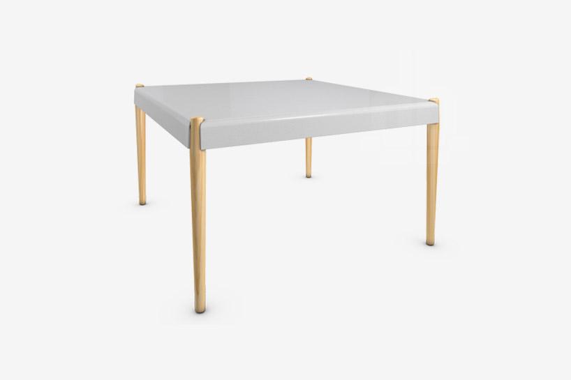 楓木材質桌腳的茶几咖啡桌