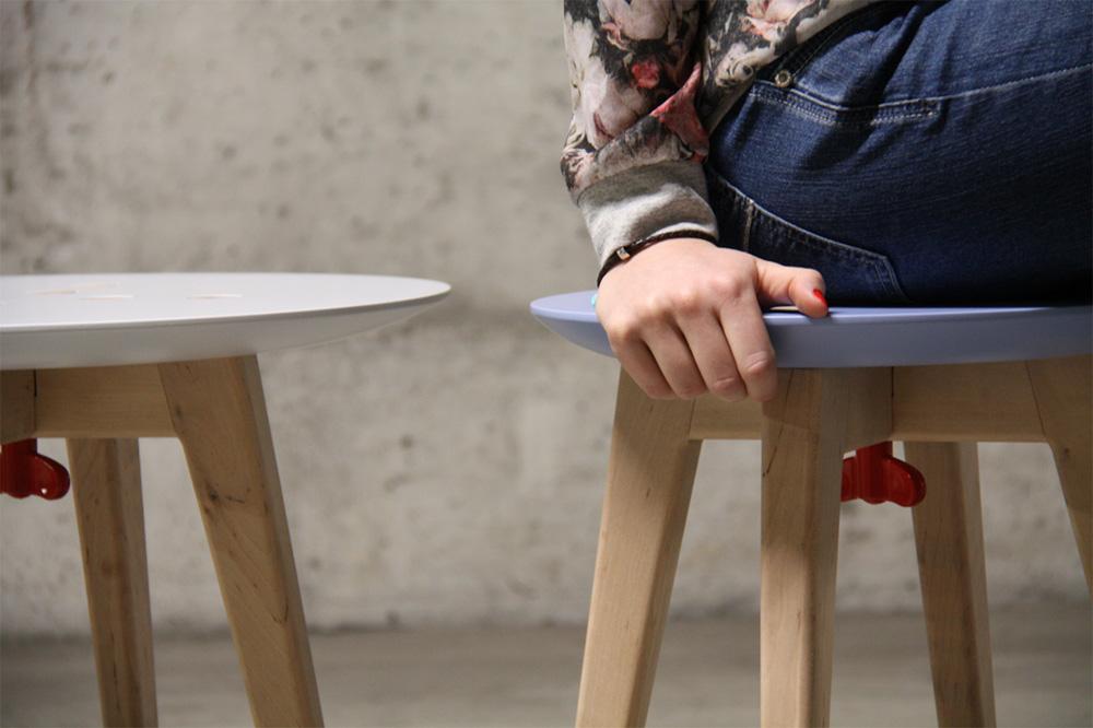 樂高積木椅