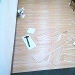 PVC塑膠地板完工