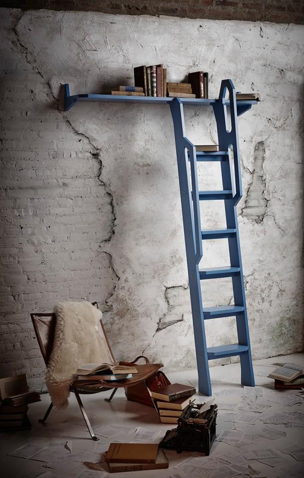 樓梯加書架