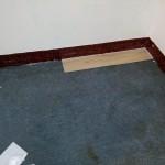 試鋪一塊PVC塑膠木地板