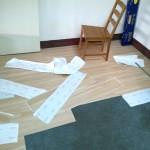 PVC塑膠地板施工