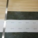 裁切PVC塑膠地板施工