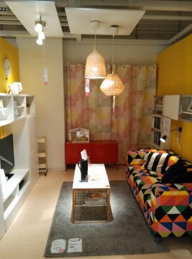 台中IKEA 展示間 客廳 沙發 室內設計 照片