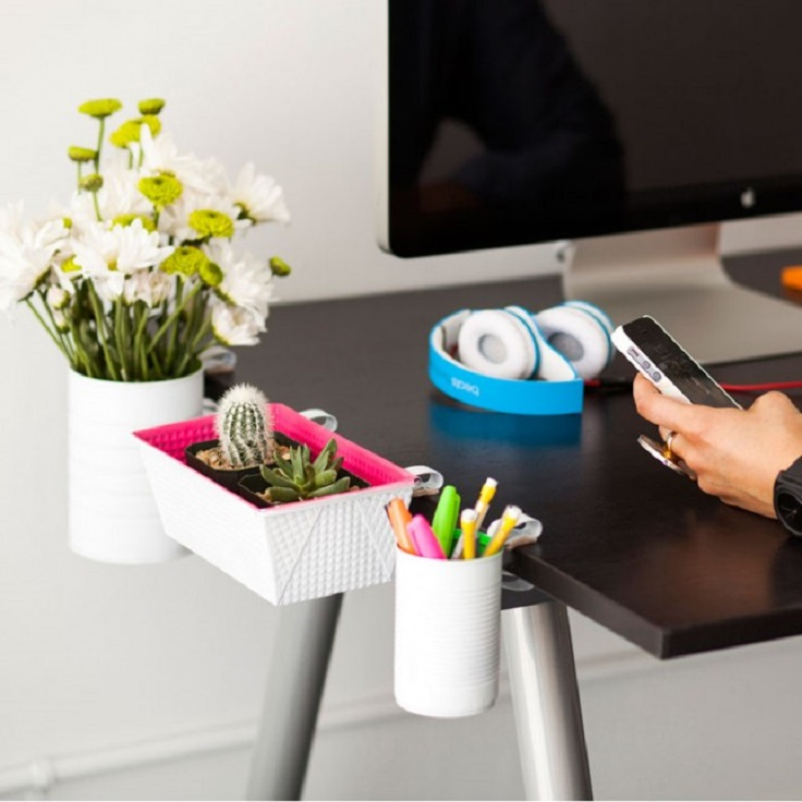 DIY-Clip-On-Desk-Organizers