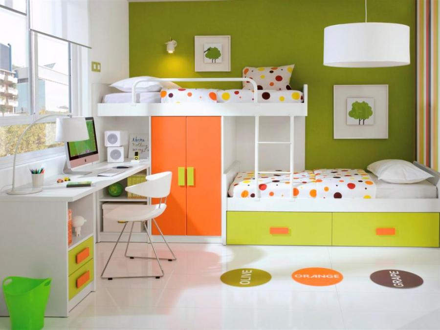 lovely-kids-bunk-beds-with-storage-and-computer-desk