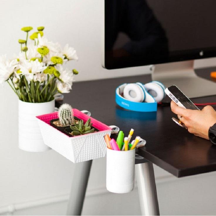 DIY-Clip-On-Desk-Organizers