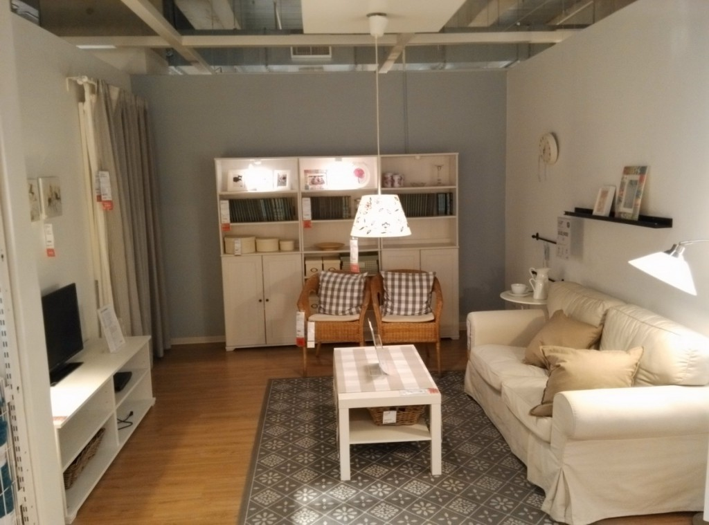台中IKEA 展示間 居家 幸福空間  沙發 系統家具 創意  裝潢 照片