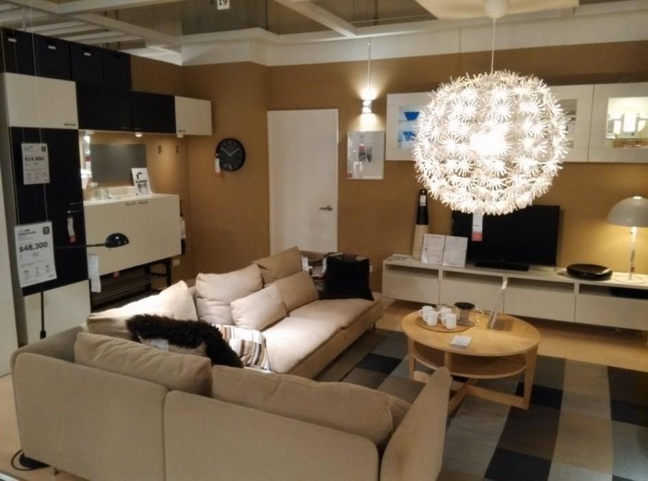 台中IKEA 展示間 客廳 沙發室內設計 靈感 創意 攞設 裝潢照片