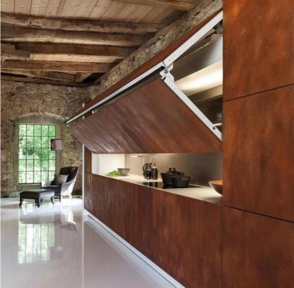 消失的廚房室內設計照片