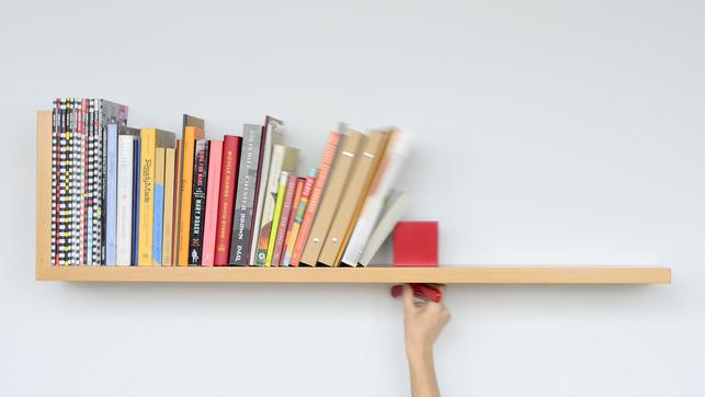 創意書架層架家具照片