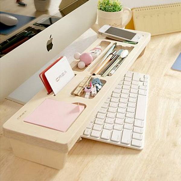1-wooden-keyboard-shelf
