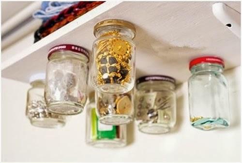 透明玻璃瓶身一目了然,不佔用額外空間