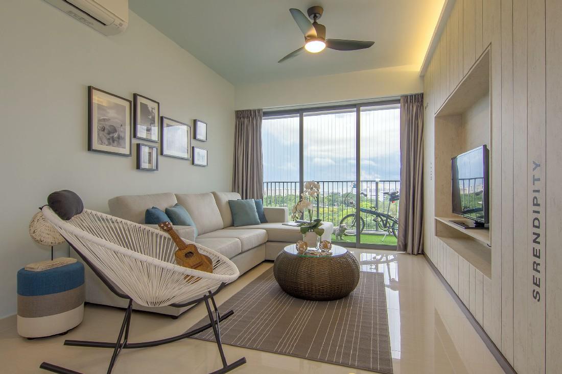 新加坡海洋风室内设计案例