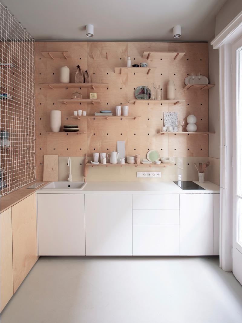 小公寓廚房層板
