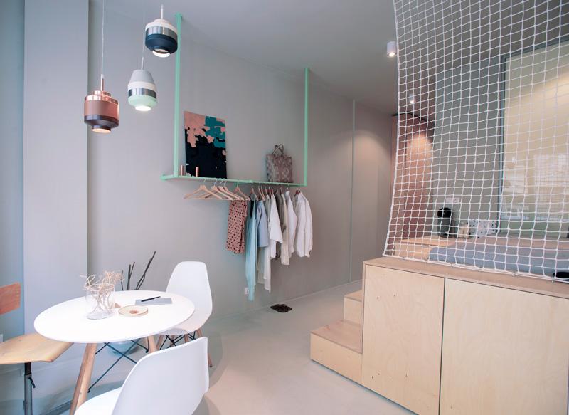 匈牙利布達佩斯小公寓餐廳家具