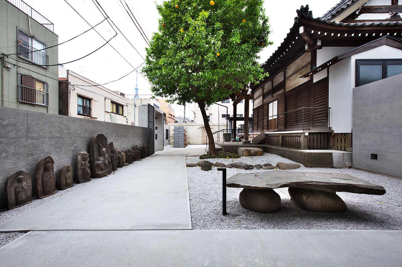 通入寺翻修現代化