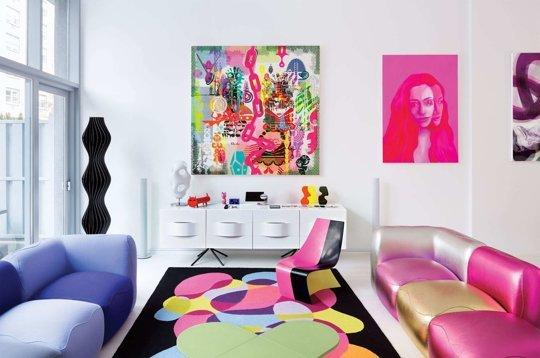 Karim Rashid's Apartment on The Cut