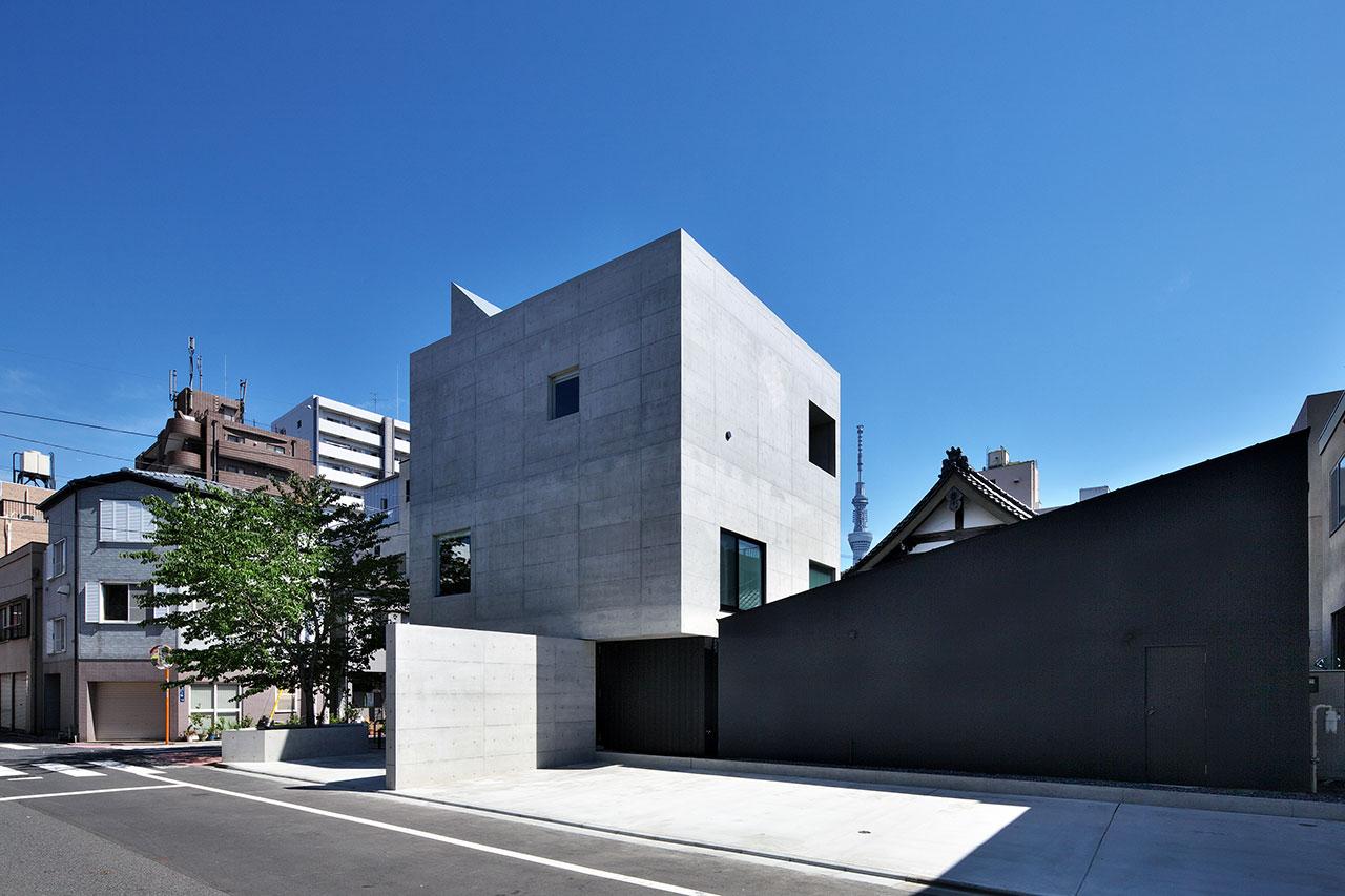 通入寺現代清水模建築外觀