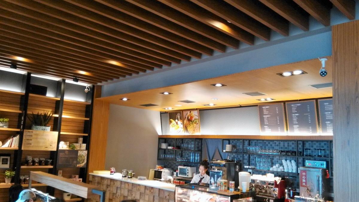 台中 異人館 咖啡 吧台區