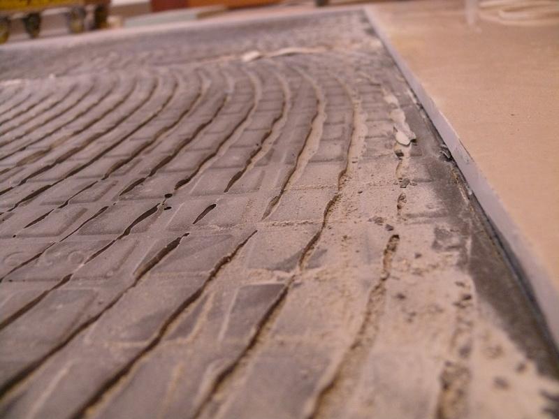 水泥地板近照
