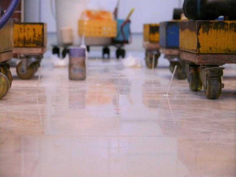 膨拱灌注工法第一天施工完成