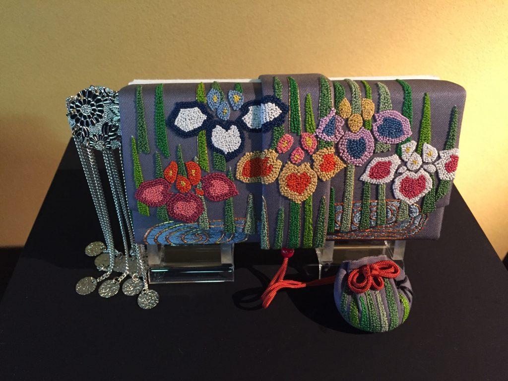 日本刺繡展包包