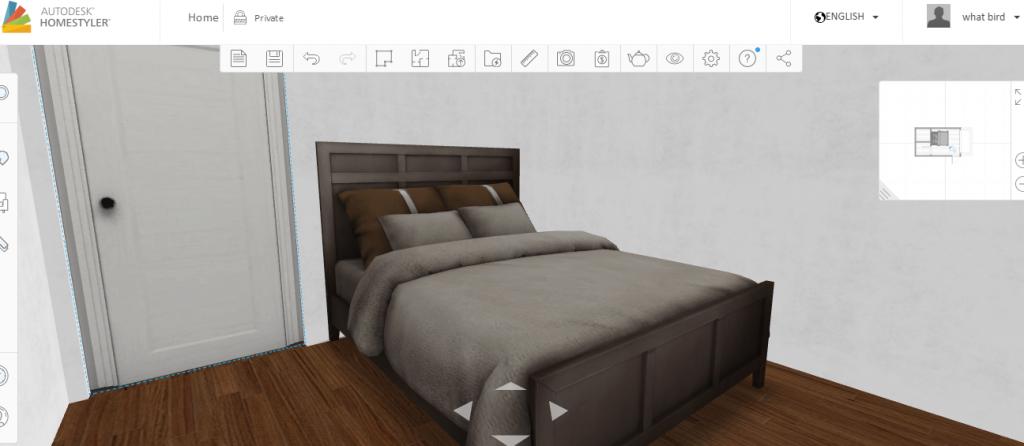 3D VR 模擬室內設計佈置