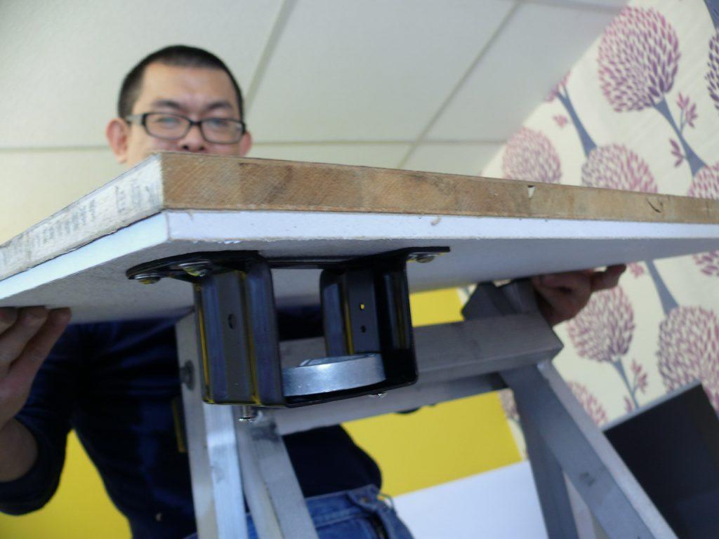 輕綱架天花板安裝吊扇