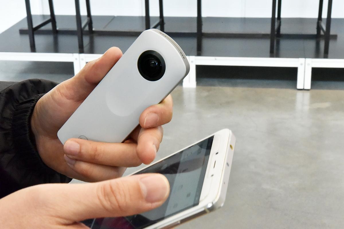 手機與360相機使用APP Wifi連線