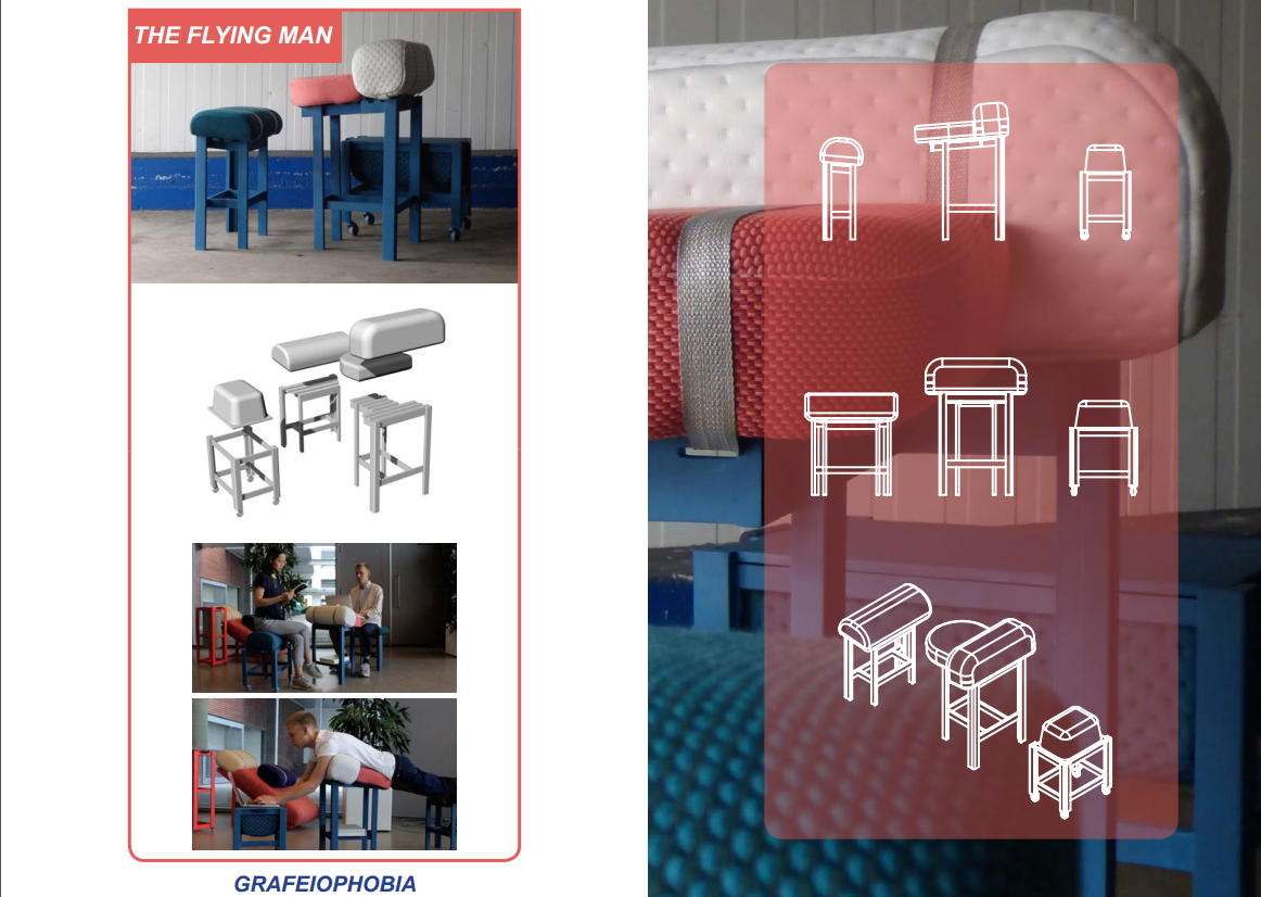 Grafeiophobia趴著辦公室家具桌椅