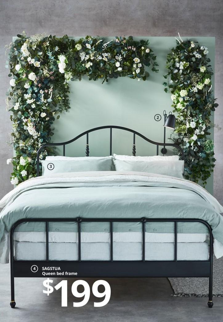 IKEA 2020 新 黑鐵床架