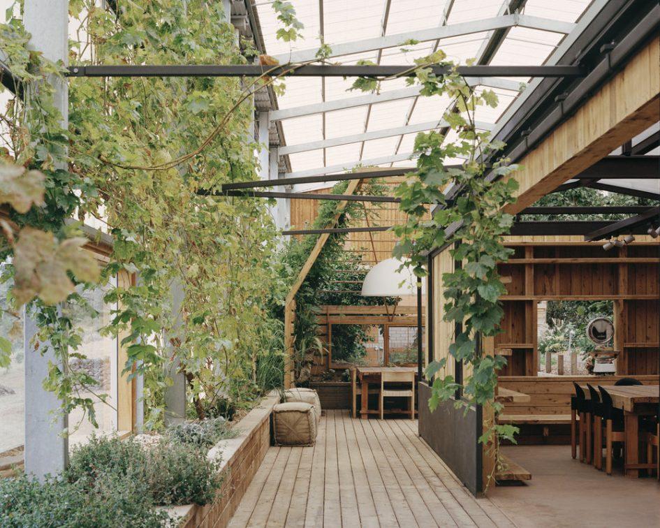 室內植裁陽光屋頂