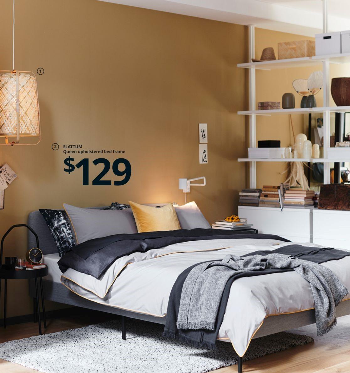 Ikea 灰色鐵床 立柱櫃