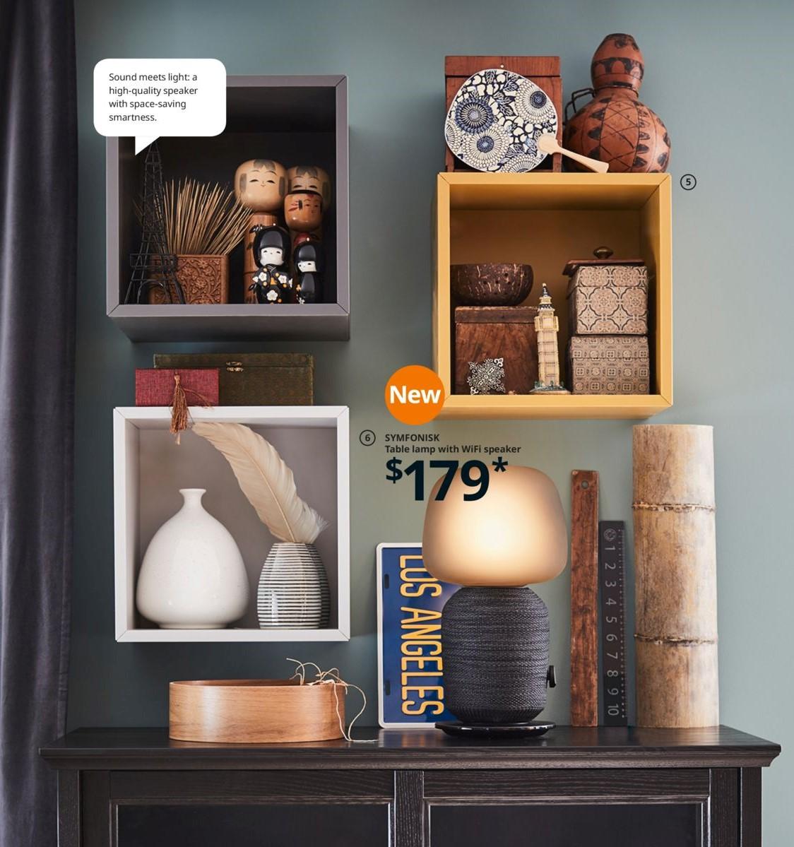 IKEA 懸牆收納櫃佈置靈感