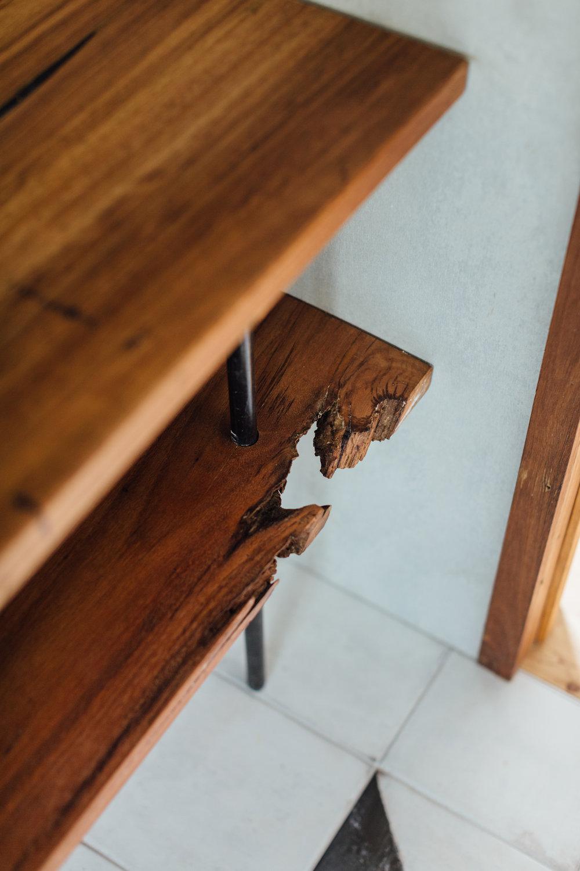 原木層架書架