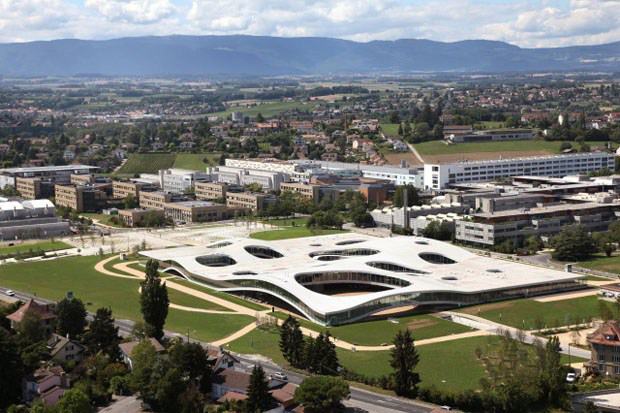 Rolex Learning Center, Lausanne - Switzerland, SANAA