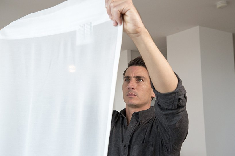 IKEA最新的白色窗簾