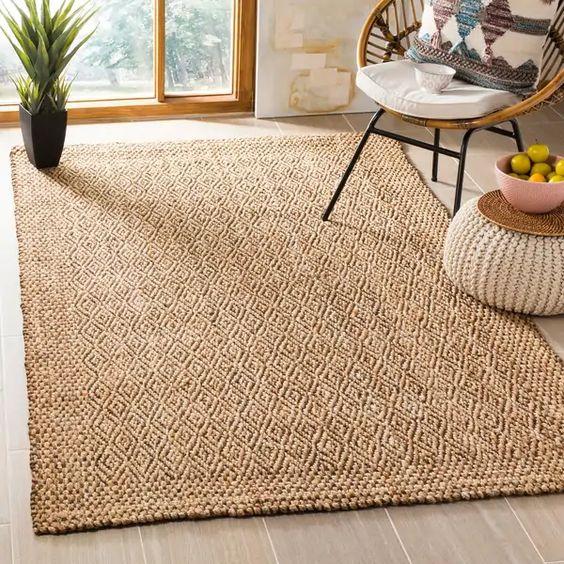 黃麻地毯地墊