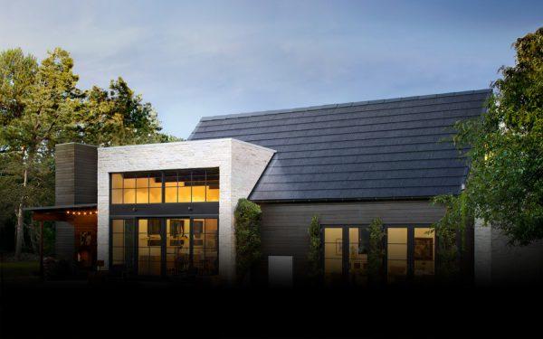 Tesal特斯拉太陽能屋瓦安裝示意圖